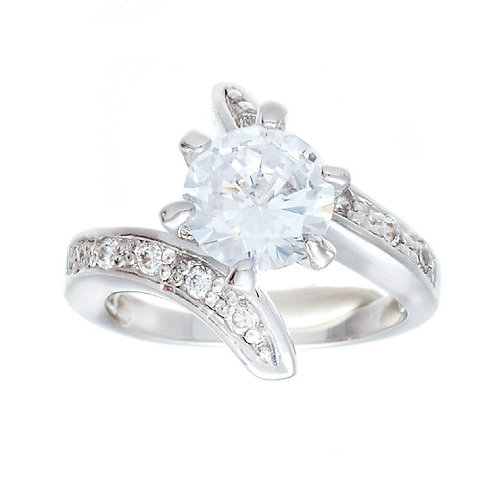 High Mount Classic Solitaire Engagement Ring