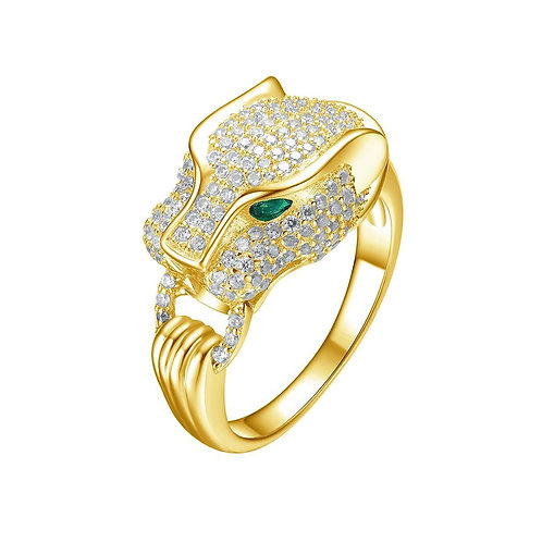 Mister Saber Ring - Gold Vermeil