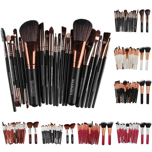 MAANGE 22Pcs Makeup Brushes Set Face Foundation