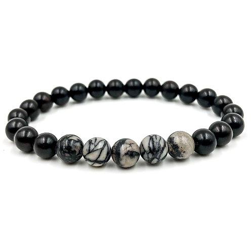 Grove | Black Silk Stone & Blackwood