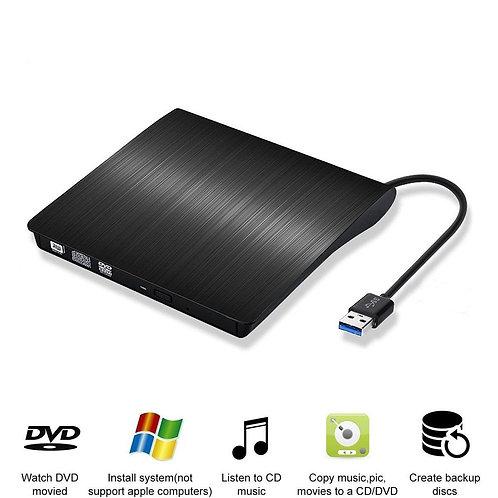 USB 3.0 External DVD Drive CD/DVD-RW Drive Writer