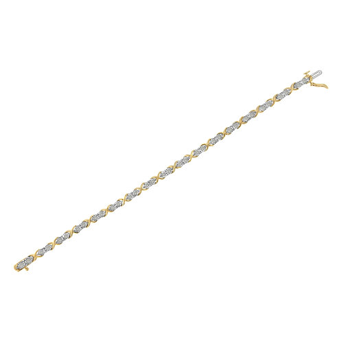 2 Micron 14K Yellow Gold Plated Sterling Silver