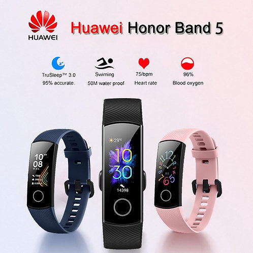 Huawei Honor Band 5 Smartband AMOLED Oxygen Blood