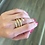 Thumbnail: Snake Inspired Coil Gold Tone Fashion Ring