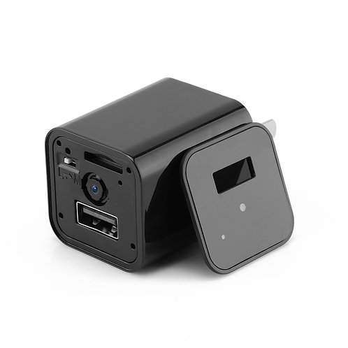 HD 1080P Hidden Camera USB Charger Home Security