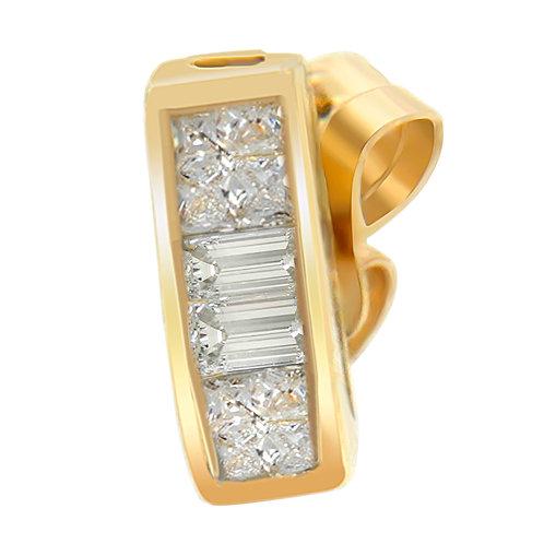 14k Yellow Gold 1/4ct TDW Diamond Earrings (H-I,