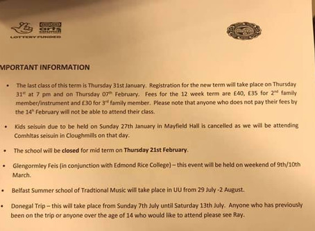 New Term Information