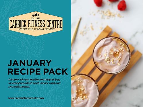 Recipe Pack - January 2021