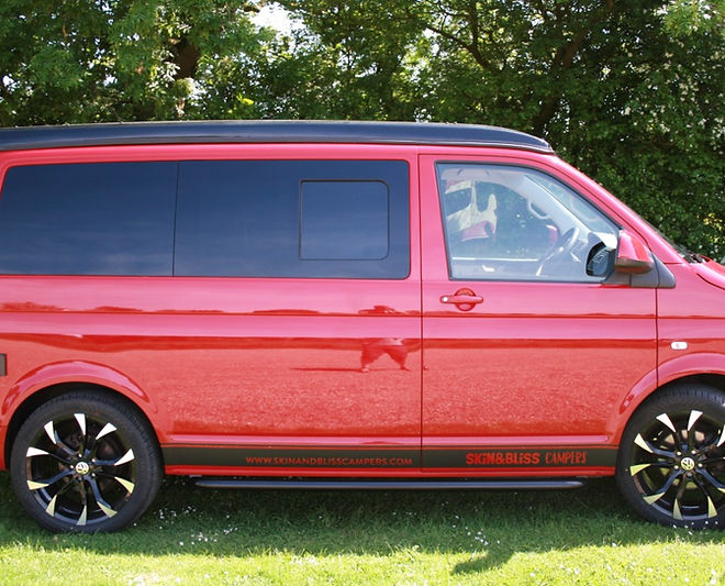 Rhubarb - VW Campervan hire Essex
