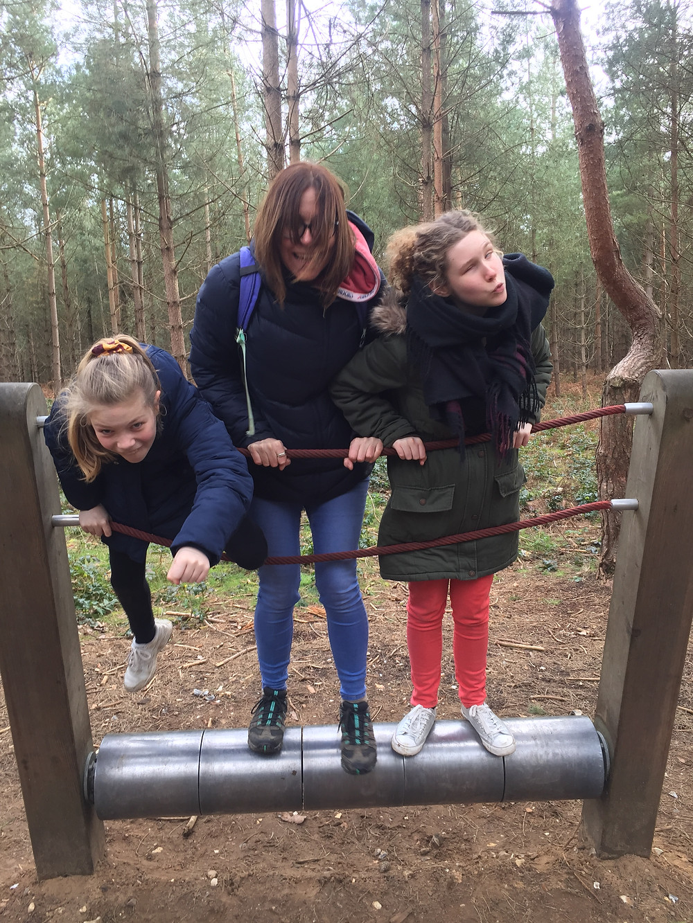 Family Fun on the Sensory Trail at Thetford Forest