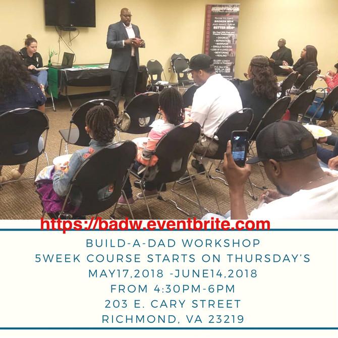 Build-A-Dad Workshop 5 Week Curriculum.