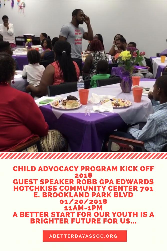 Child Advocacy 2018 Kick Off!!