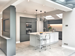 Handcrafted Handleless Kitchen
