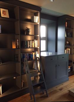 Lit Library Bookshelves