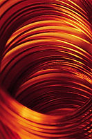 Copper wire metals and finish image