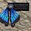 Thumbnail: Morpho Blue Butterfly Earrings