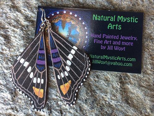 California Sister Butterfly Earrings
