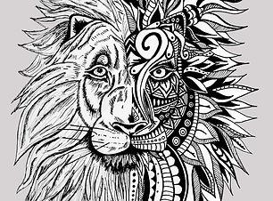 A4 lion grey.jpg