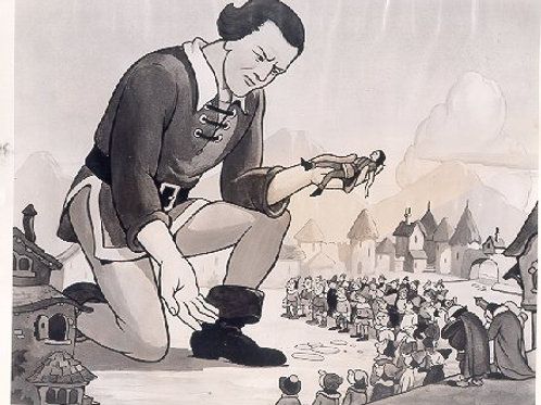 A15. GULLIVER'S TRAVELS ORIGINAL ANIMATION PHOTO