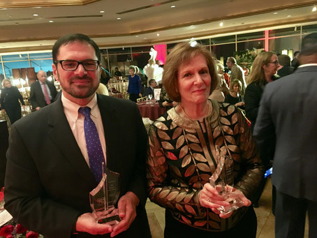 Harrison Edwards Honored at 2017 United Hebrew Fall Dinner