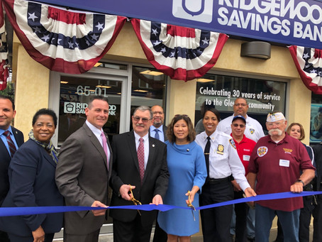 Ridgewood Savings Bank Gives Back to the Community in Glendale, Queens