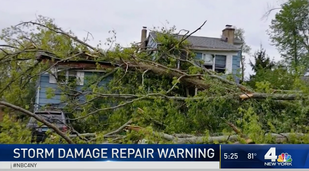 After the Storm: A Warning for Westchester, Putnam, and Fairfield County Residents in Avoiding Dangerous and Costly Repairs