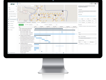 Vitruvi™ Telecom Construction Software to Support CommScope Network Construction