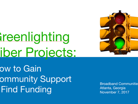 A List of Grant Funding Sources for Community Broadband Projects