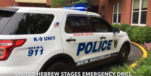 United Hebrew of New Rochelle Emergency Drill