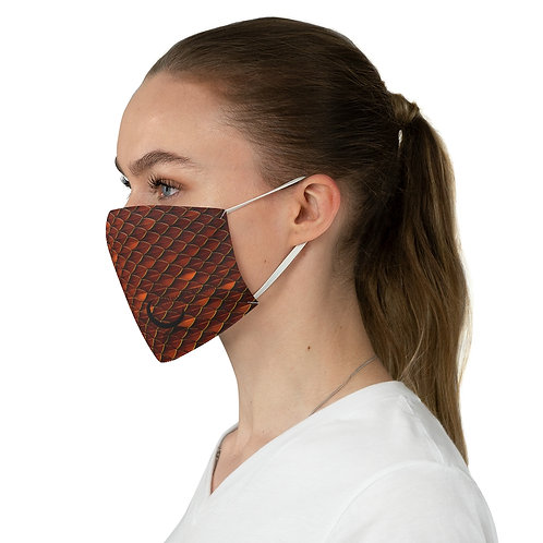Dragon Scale Fabric Face Mask