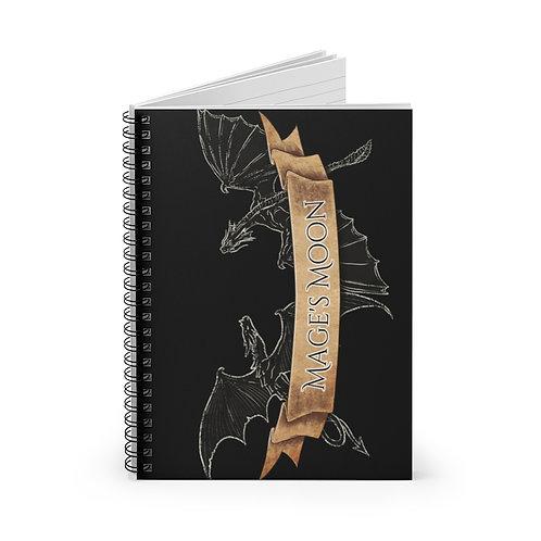 Dargon Etch Spiral Notebook - Ruled Line