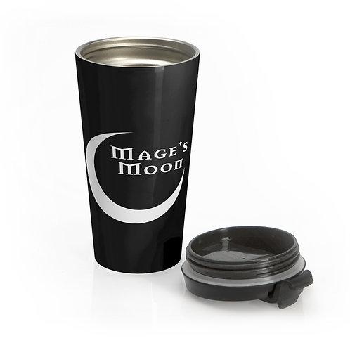 Mage's Moon Stainless Steel Travel Mug
