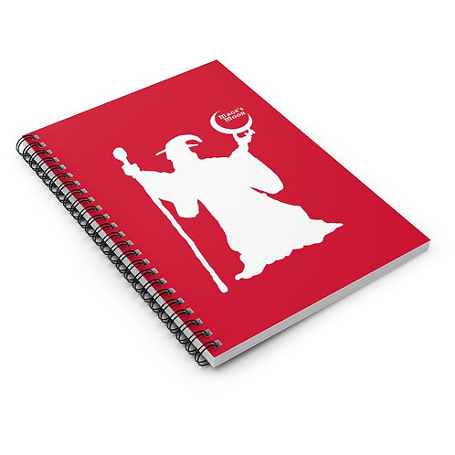 Wizard Spiral Notebook - Ruled Line
