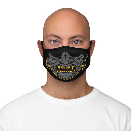 Samurai - Fitted Polyester Face Mask