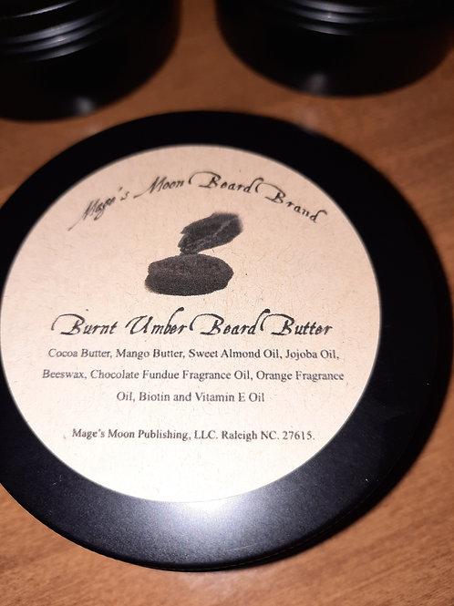 Burnt Umber Beard Butter
