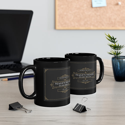 Black mug 11oz