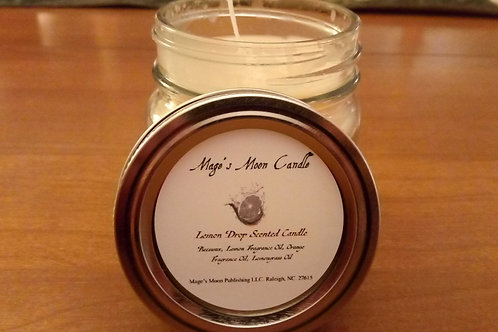 Lemon Drop Scented Candle Jar