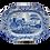 "Thumbnail: 19th C. Staffordshire Transferware ""Castle"" Pattern Platter"