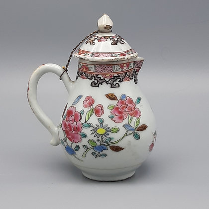 18th Century Yongzheng Chinese Export Famille Rose Creamer