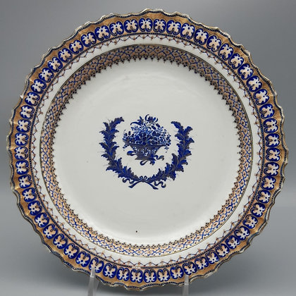 18th C. Chinese Export Plate for the American Market