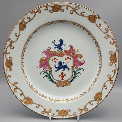 18th Century Chinese Export Armorial Plate – Pryce