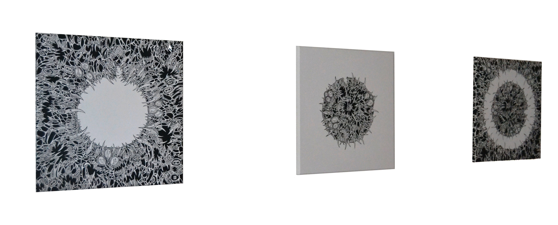 Necrocosmic Moon (complete triptych)