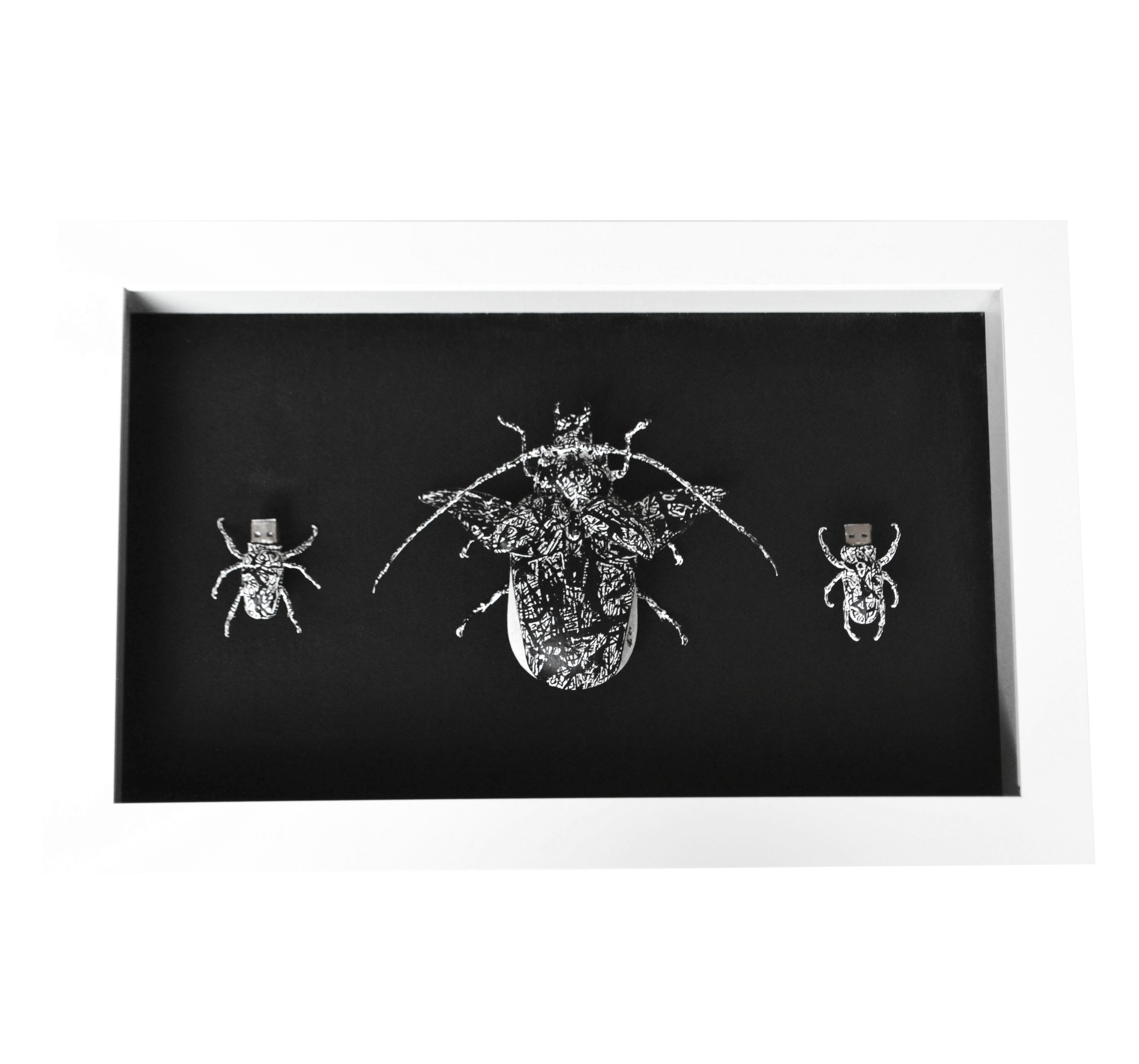 Mouse Bugs Triptych
