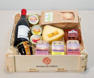 Caja regalo Compostela
