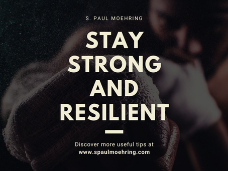 Stay Strong and Resilient