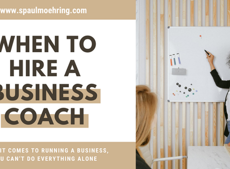 When to Hire a Business Coach