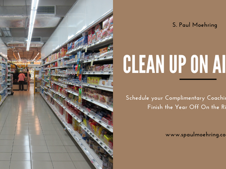 Clean Up on Aisle 6…