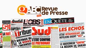Revue de presse Covid-19