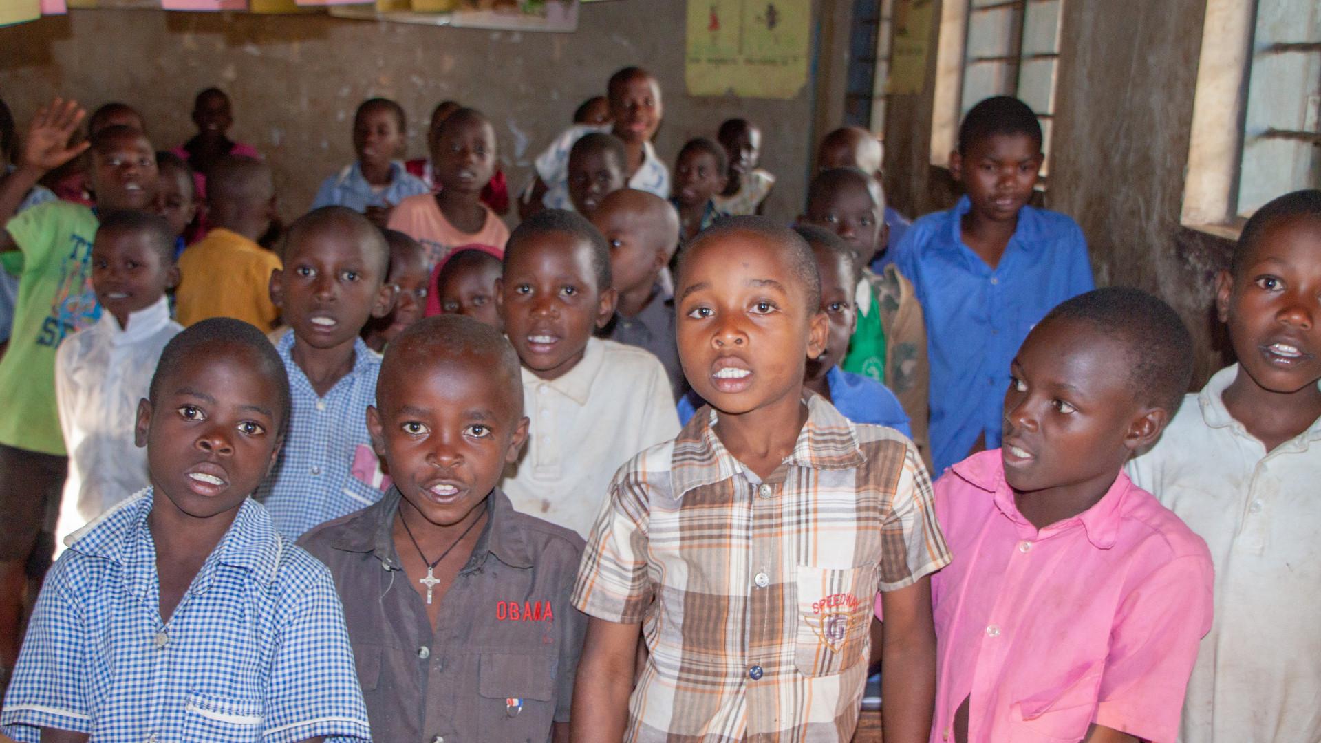 School children in Uganda