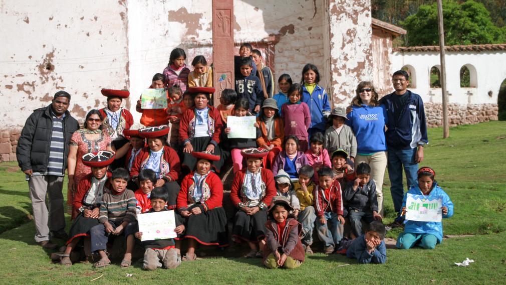 Rural village in Peru
